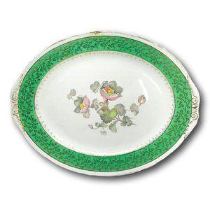 Homer Laughlin  Magnolia Flowers Decorative Plate